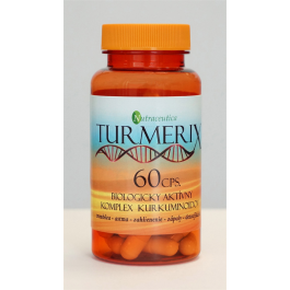 Nutraceutica Turmerix (kurkumín s piperínom) 60 kapsúl