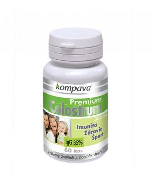 Kompava premium colostrum - imunita, zdravie, šport