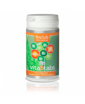 fin VitaBtabs Finclub (vitamíny skupiny B)