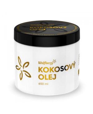 kokosový olej wolfberry bio panenský 750 ml