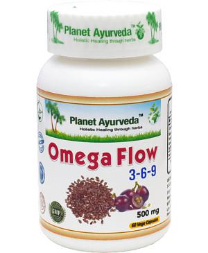 Omega FLOW planet ayurveda