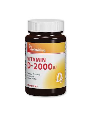Vitaking Vitamín D3 2000