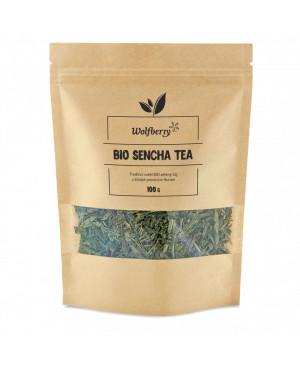 zelený čaj sencha bio wolfberry