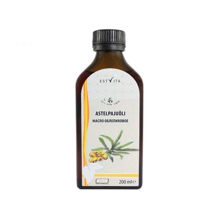 rakytníkový olej estvita 200 ml