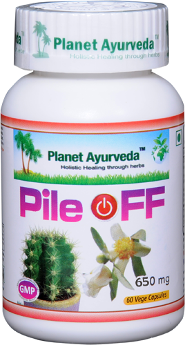 pile off planet ayurveda
