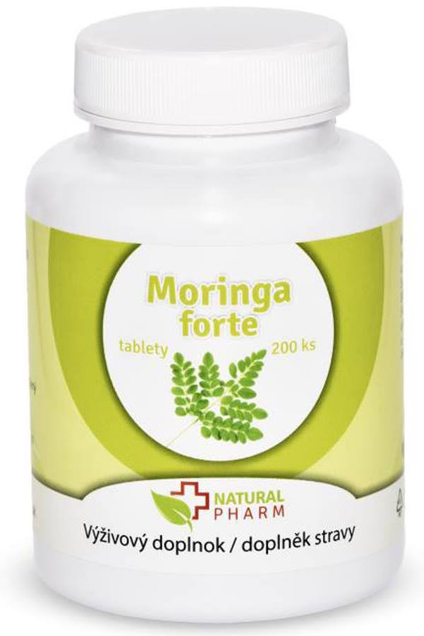 moringa forte natural pharm 200 tabliet