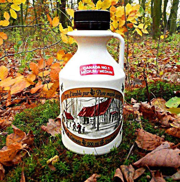 Javorový sirup Medium (Grade A) 500 ml krčah