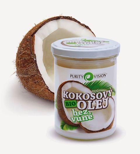Purity Vision BIO Kokosový olej bez vône 400 ml
