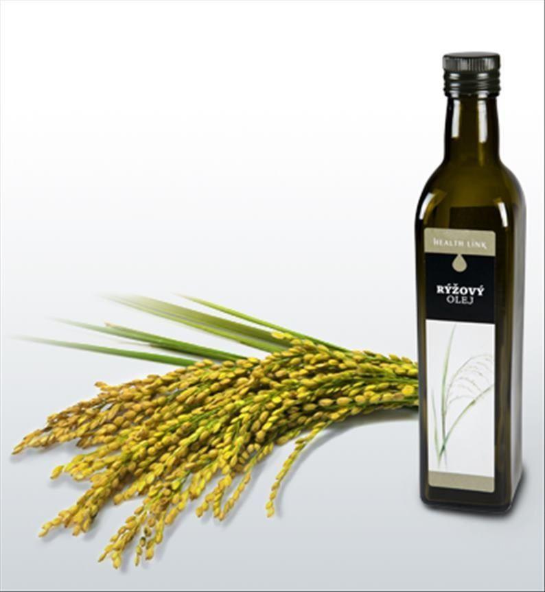 Health Link ryžový olej 500 ml