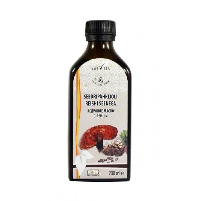 cédrový olej s hubou reishi 200 ml