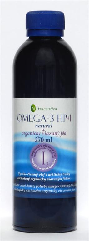 Rybí olej s jódom Omega-3 HP+I