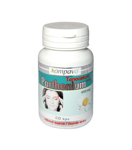 Kompava tanacetum parthenium (Rimbaba obyčajná)