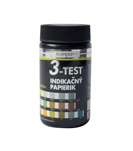Lakmusové papieriky 3v1 3-Test