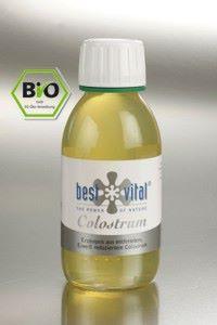 100% BIO Kolostrum tekuté BestVital 125 ml