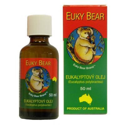 eukalyptový olej euky bear