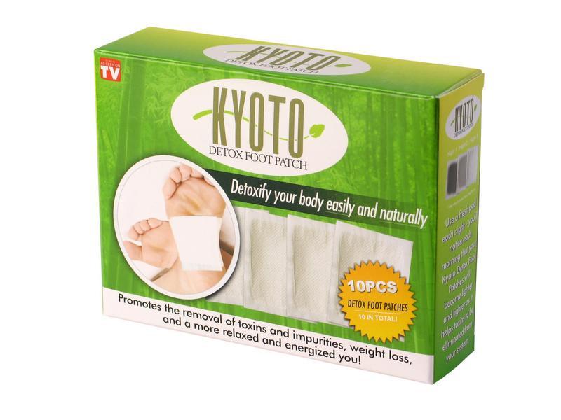 Detoxikačné náplasti kompava kyoto