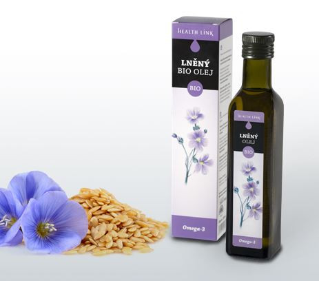 Bio ľanový olej