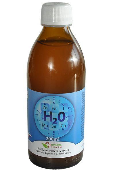 aktívne minerály extra natural pharm 300 ml