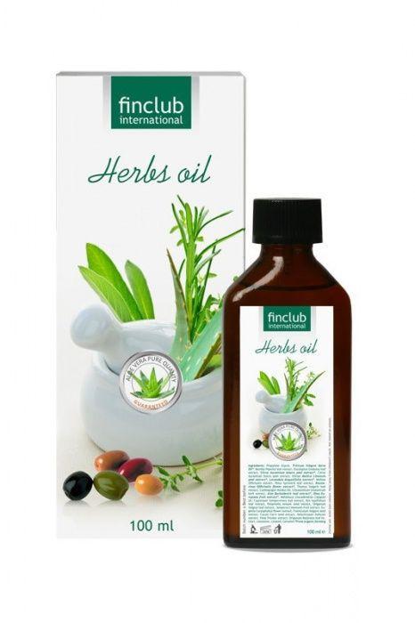 Aloe Vera bylinný olej Finclub
