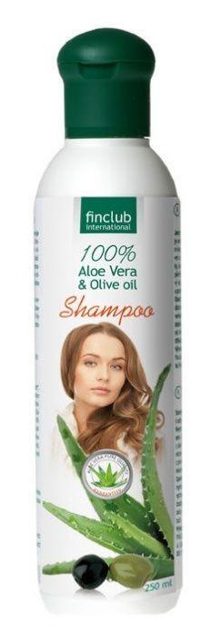 Aloe Vera, olivový olej šampón Finclub