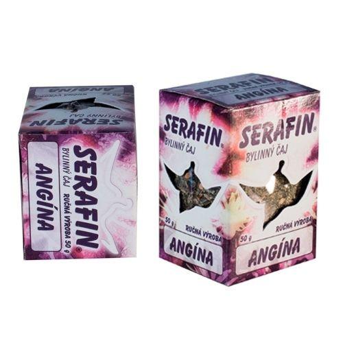 Serafin Angína - sypaný čaj