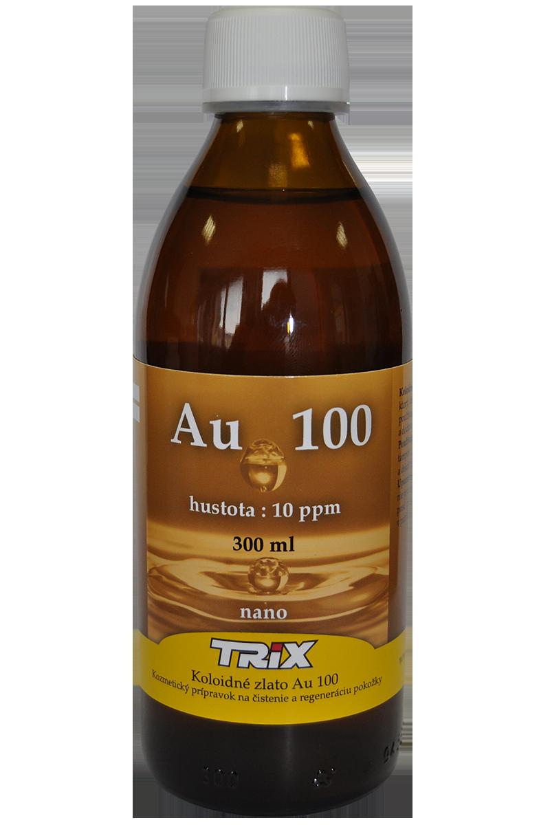Koloidné zlato Au100 10 ppm 300 ml