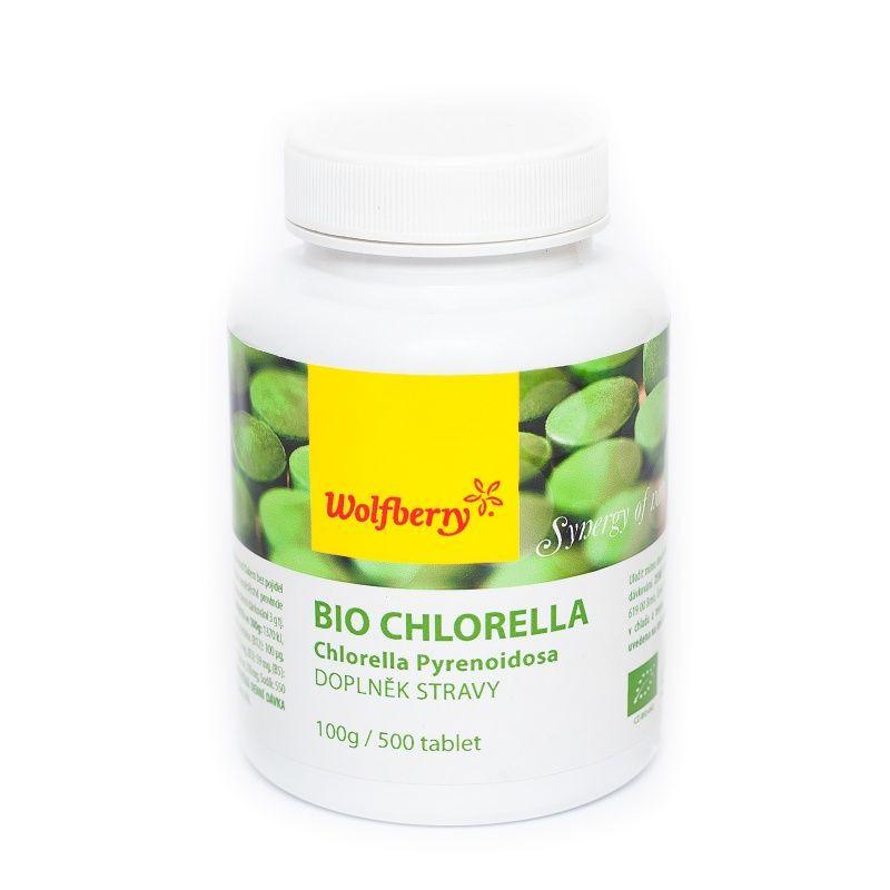 chlorella pyrenoidosa bio 100g