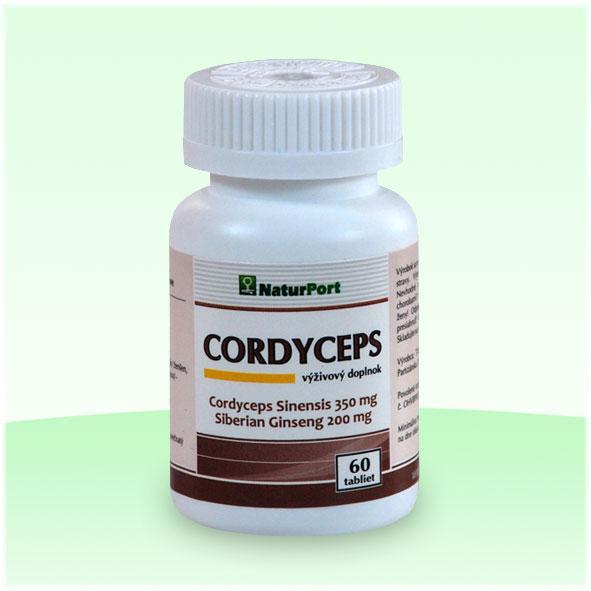 cordyceps so sibírskym ženšenom 60 tabliet