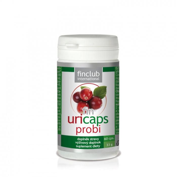 fin Uricaps Probi Finclub 60 kapsúl