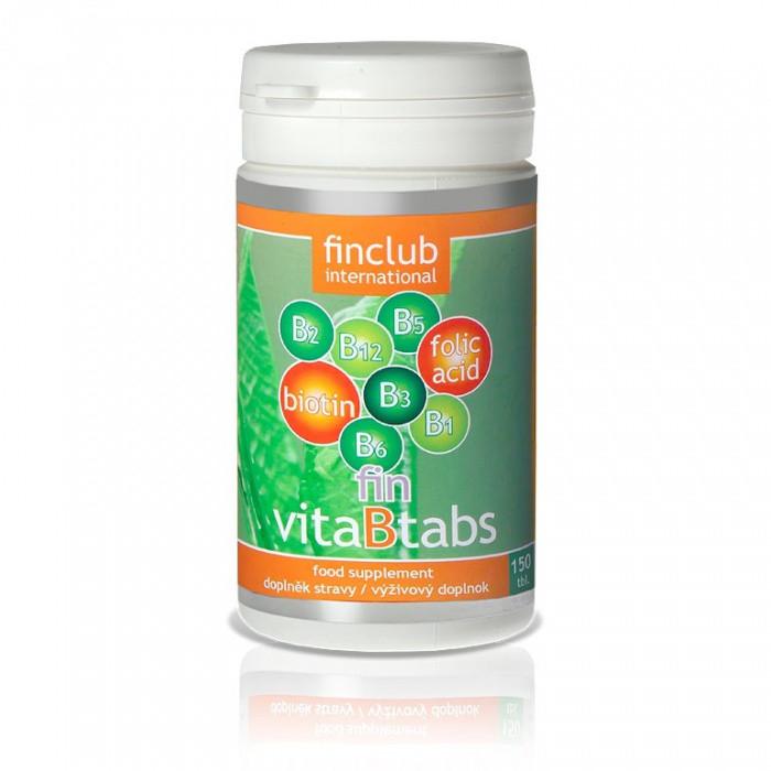 fin VitaBtabs Finclub (vitamíny skupiny B)
