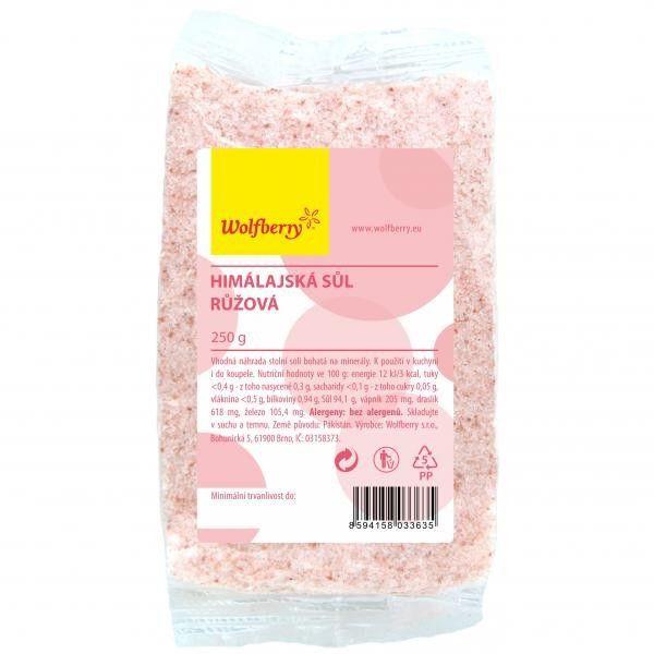 Himalájska soľ ružová Wolfberry