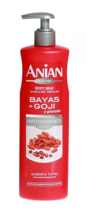 hydratačné telové mlieko anian s goji