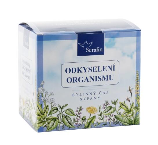 Čaj na odkyslenie organizmu serafin