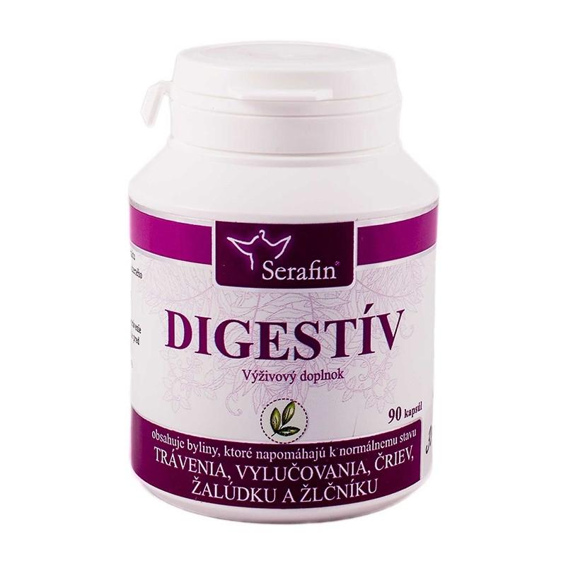 serafin digestiv - trávenie a vylučovanie žalúdka, čriev a zlčníka
