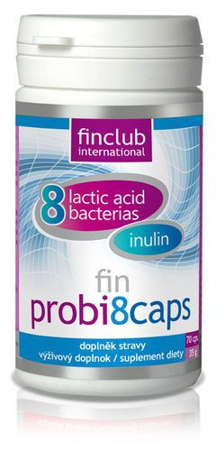 fin probi8caps baktérie mliečneho kvasenia Finclub