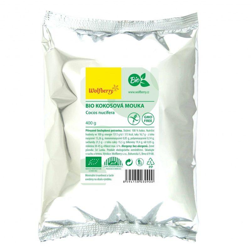 Kokosová múka wolfberry bio 400g