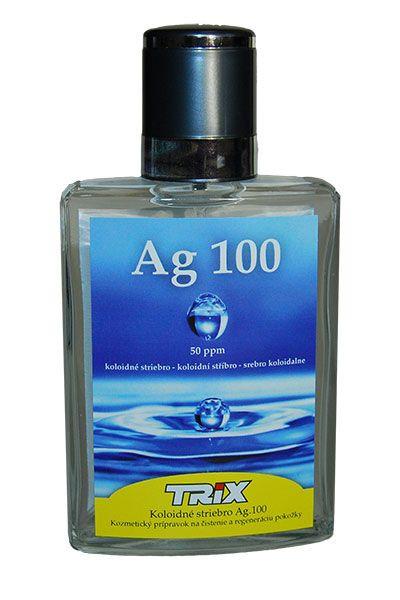 koloidné striebro Ag100 50 ppm 100 ml sprej