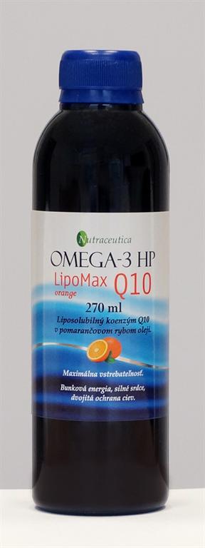 rybí olej omega-3 lipomax q10