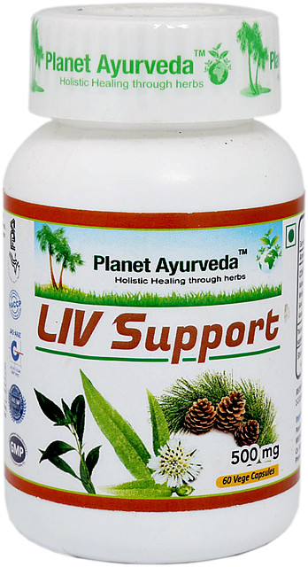 liv support planet ayurveda