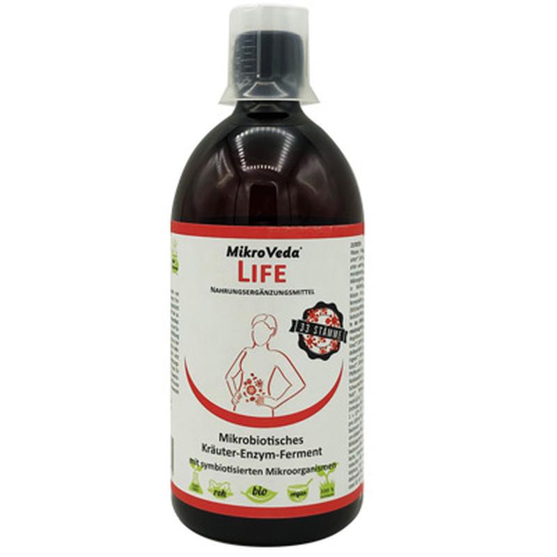 MikroVeda LIFE enzýmový fermentačný nápoj