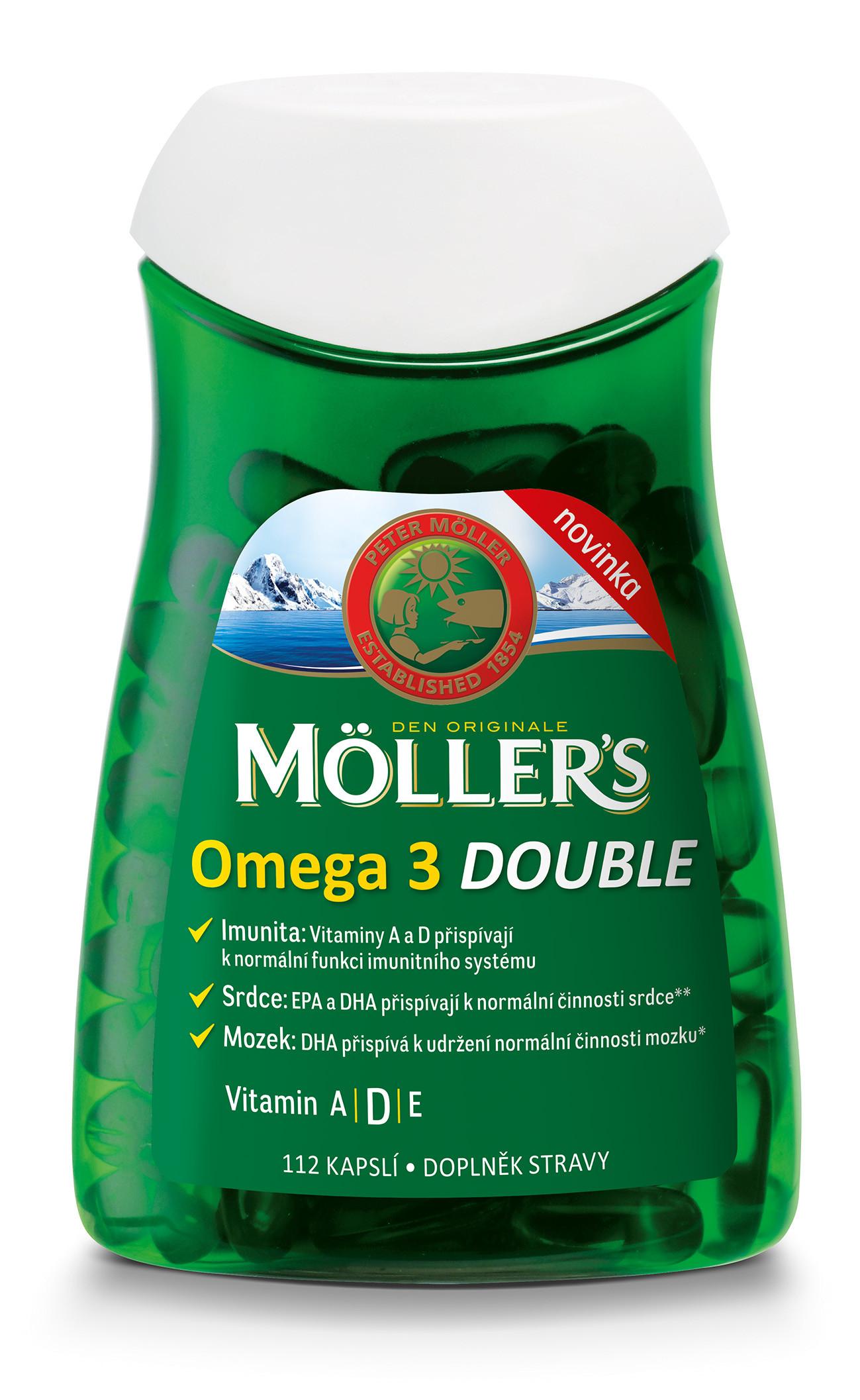 Moller´s Omega-3 Double kapsule