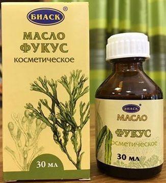Kozmetický olej z morskej riasy Fukus 30 ml
