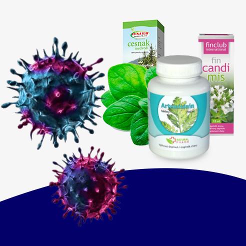 Protivírusový a antibakteriálny balíček imunity