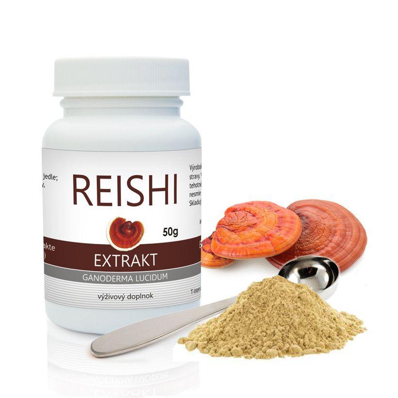 Reishi BIO medicínsky extrakt prášok 50g