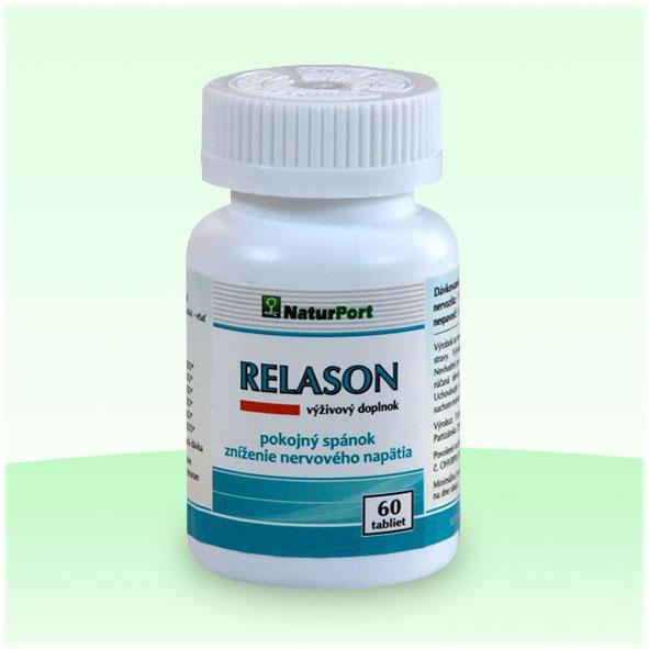 Relason - pokojný spánok, zníženie nervového napätia