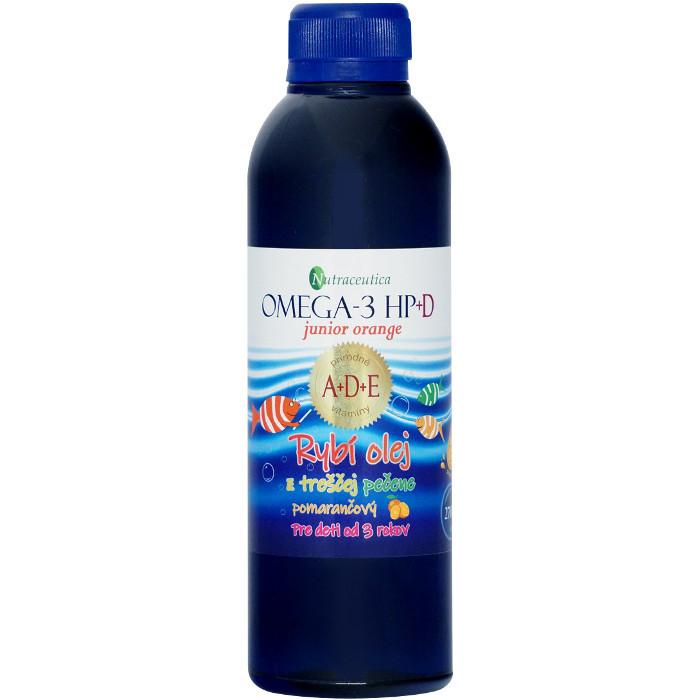 rybí olej z treščej pečene omega-3 HP+D junior orange