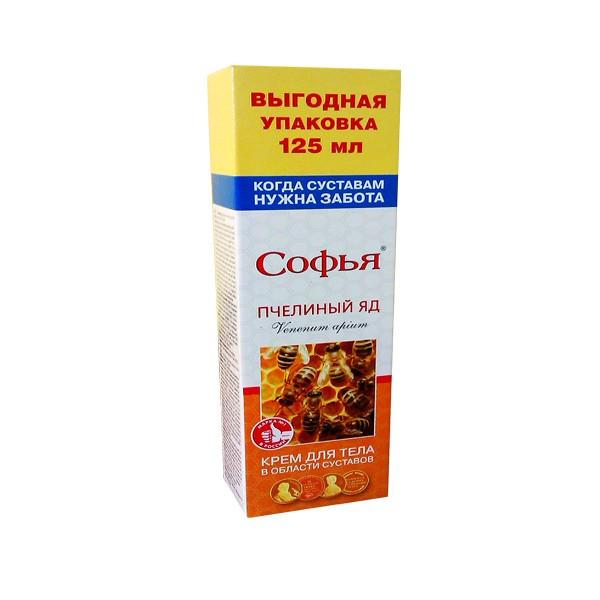 sofia krém so včelím jedom a glukosaminom