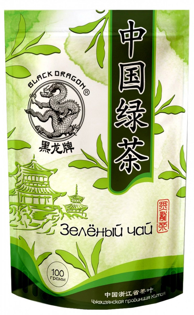 DRAGON zelený čaj Natural 100g