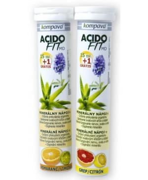 Minerálny nápoj Kompava Acidofit