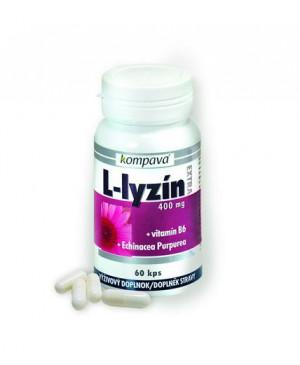 Kompava L-lyzín, vitamín B6, echinacea purpurová